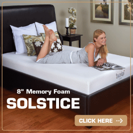 Solstice Space Age Foam Mattress