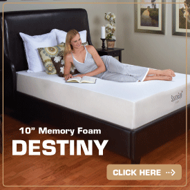 Density Space Age Foam Mattress
